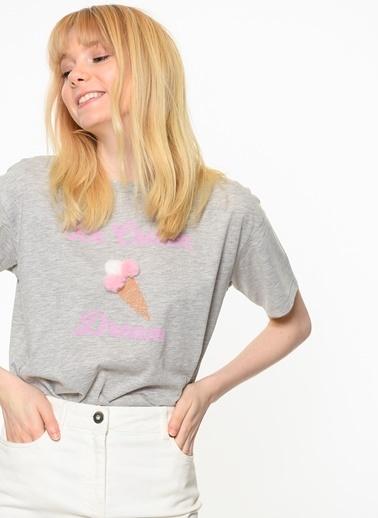 Baskılı Tişört-Only